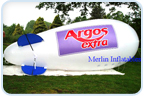 Merlin Inflatable Advertising Blimps